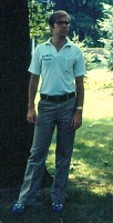 As a junior at Amherst, in my fraternity shirt (which I still have).